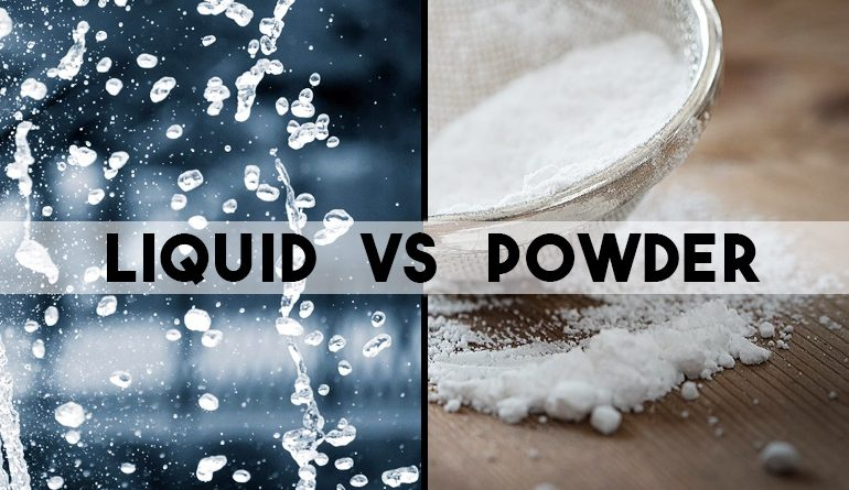 Is It Better To Use A Washing Powder Or Liquid