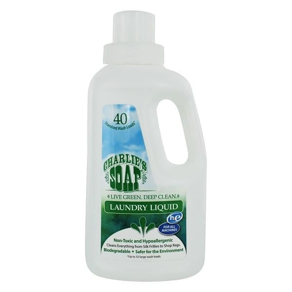 Charlie's Soap Laundry Liquid