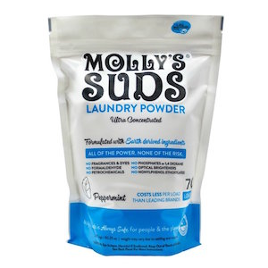 Mollys Suds Laundry Powder is on sale now