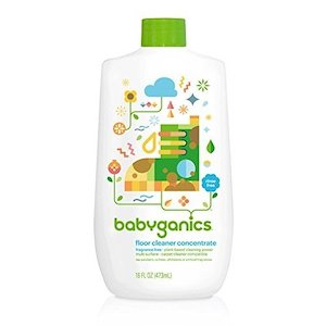 Babyganics Fragrance Free Floor Cleaner Concentrate